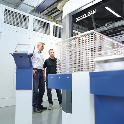 Centres technologiques Ecoclean